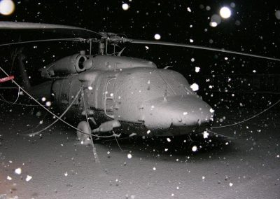 First Snow Storm Kosovo