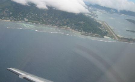 Seychelle runway