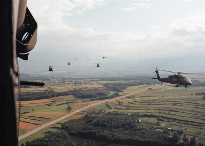 UH60 Helicopters Kosovo